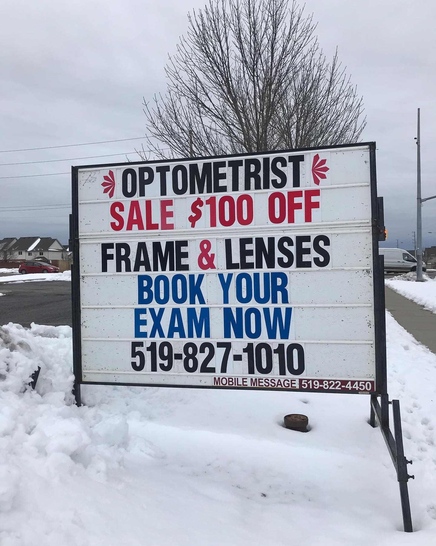Hurry in! There's only a few days left to take part in our winter sale!! #eyepractice #rockwoodoptometrist #guelphoptometrist #rockwoodoptometry #guelphoptometry #wintersale #newglasses